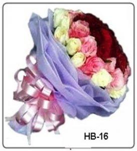 Bunga Rangkaian cocok dikirimkan Hari Valentine