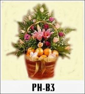 Parcel Buah Dan Bunga